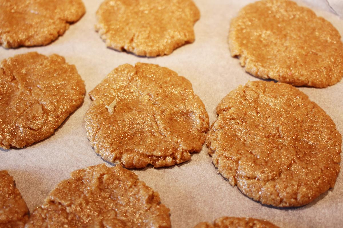 oats flour butter biscuits