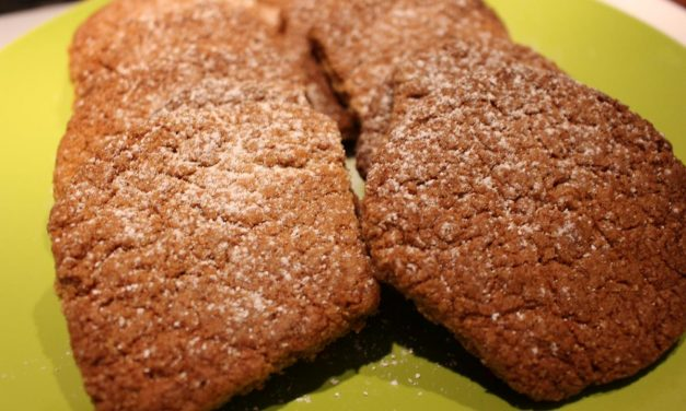 Oats flour cookies: simply delicious